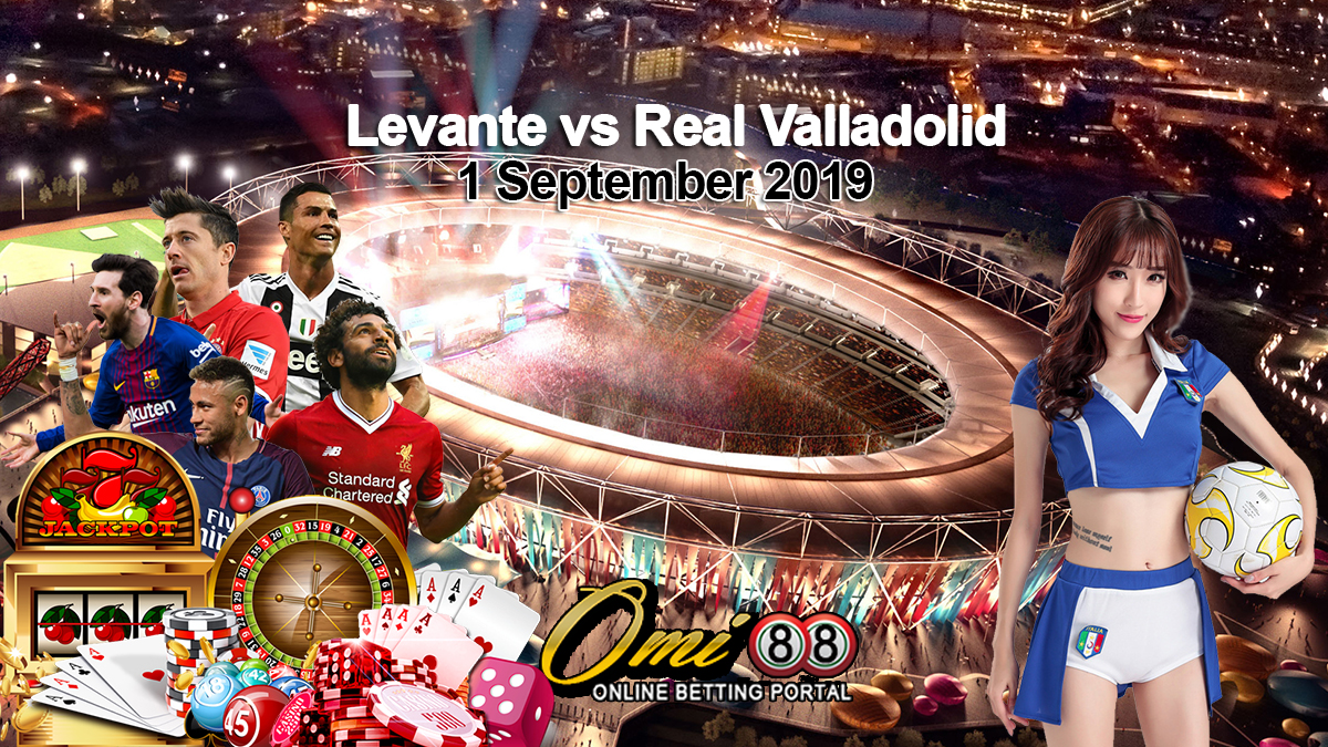 Prediksi Skor Levante vs Real Valladolid 1 September 2019