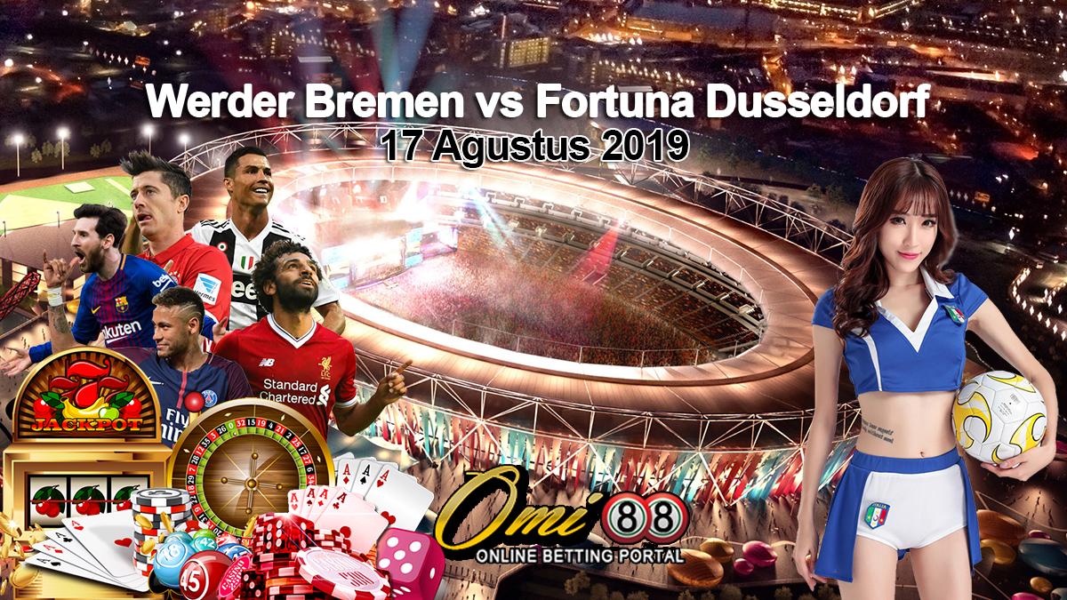 Prediksi Skor Werder Bremen vs Fortuna Dusseldorf 17 Agustus 2019