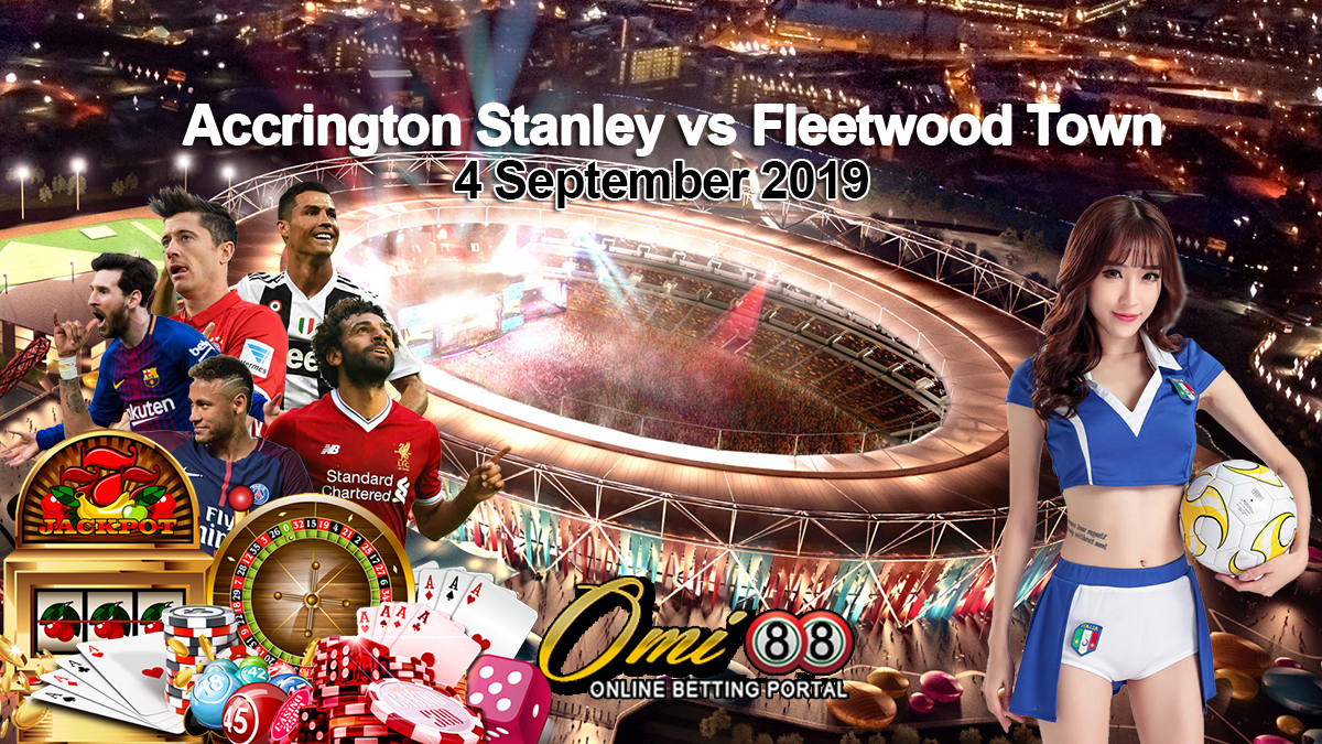 Prediksi Skor Accrington Stanley vs Fleetwood Town 4 September 2019